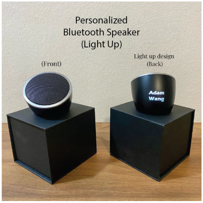 Personalized Name Bluetooth Speaker (Light Up Name)